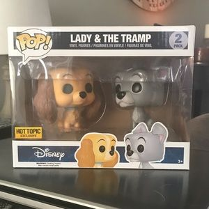 Lady & The Tramp Funko Pop